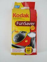 Kodak Fun Saver Disposable Camera 800 35mm 27 exposures w/ Flash, Expired 5/2008