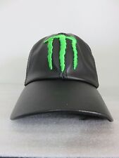 Monster Energy Drink VINYL CAP (One Size Adjustable) Unused RARE Promo
