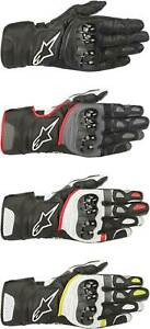 Alpinestars SP-2 V2 Gloves - Motorcycle Street Bike Riding Leather Touch Screen