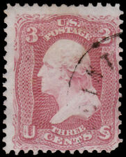 United States Scott 64b (1861) Used G-F, CV $150.00 D