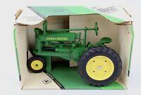 JOHN DEERE Model A Die-Cast Metal Tractor 1:16 Scale ERTL w Box Vintage Farm toy