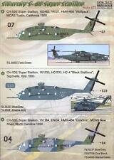Print Scale Decals 1/72 Sikorsky S-80 Super Stallion Helicopter