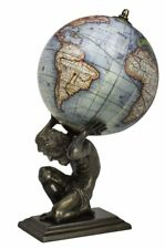 Atlas Sphere Globe Antique Reproduction