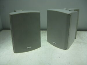 USED Apart SDQ5P Active Wall-mounted STEREO LOUDSPEAKER & Wall Mount Brackets