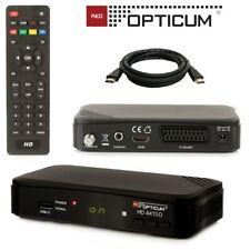 HD Sat Receiver Opticum AX 150 Digital SCART HDMI 1080p USB HDTV 230V / 12V