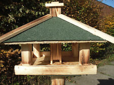Mangeoire Nichoir Grande Villa / à Oiseaux avec Bitume Distributeur de Fourrage