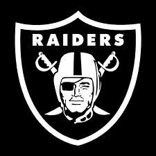 OAKLAND RAIDERS Decal vinyl sticker football car truck logo NFL Raider Nation