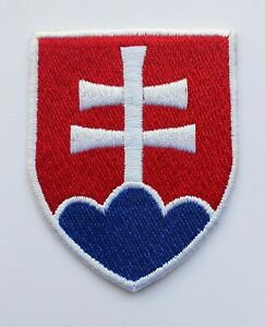 Aufnäher Patch Fußball soccer Football nationale Mannschaft Slowakei Slovakia
