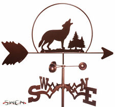 SWEN Products WOLF HOWLING IN THE WILD Steel Weathervane