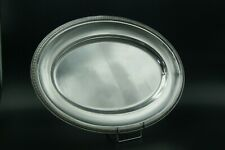 CHRISTOFLE MALMAISON XXL LARGE OVAL TRAY FISH VEGETABLE MEAT SILVERPLATED FRANCE