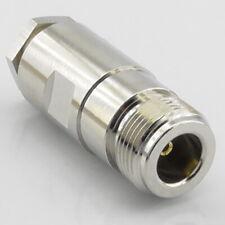 N-Type In-line Socket for RG58 RG223 RG142 LMR195 RG400 Female Cable Clamp