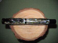 Gorgeous Handmade Titanium Atrax Rollerball pen in Real Real Paua Abalone