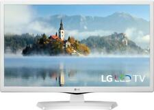 "Experience  720p media LG 24"" Class LED Smart HDTV  LG 24LM520S-WU - White"