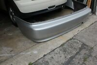 1999-2000 Honda Civic 2dr coupe rear bumper cover oem silver