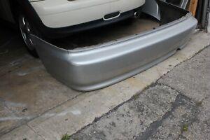 1996 1997 1998 1999 2000 Honda Civic coupe rear bumper cover oem silver