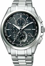 Citizen Attesa Eco-Drive AT8040-57E Radio Clock Direct Flight From Japan New