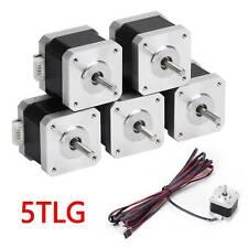 5x Nema17 Schrittmotor 59Ncm Mit  Kabel Stepper Motor 2A Für 3D Drucker CNC