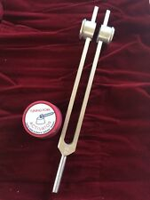 Weighted 64hz Otto Tuning Fork For Nervous System With Activator Amp Velvet Pouch
