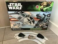 Rare Scalextric C1300 Star Wars Battle Of Hoth Prototype Set - with Snowspeeders