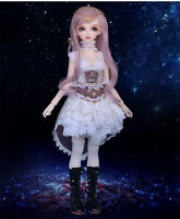 Bjd doll FULL SET Chloe dollfie recast fairyland manga anime ROPA Y PELUCA