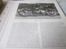 MOTO archives histoire 1138 BMW R 5, 1938