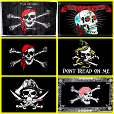 Bandiera da pennone Pirati dei Caraibi Jolly Roger 150x225cm