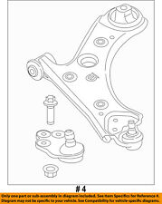 Jeep CHRYSLER OEM 2017 Compass Front-Lower Control Arm 68318011AD