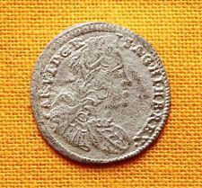 Late Medieval Austrian Coin - Carol Silver Kreuzer, 1735.