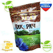 Natural Coffee Substitute Without Caffeine - Original Russian Chicory 100g