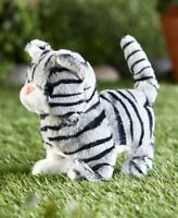 Comet the Kitten Easter Basket Cat Walks w/ Meow Sounds Kids Stuffed Animal Toy