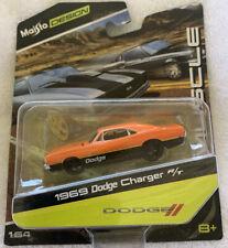Maisto Design Muscle 1968 Dodge Charger R/T 1:64 (orange & black) (NIP)