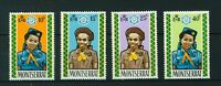 Montserrat 1970 Jubilee of Girl Guides full set of stamps. MNH. Sg 264-267.