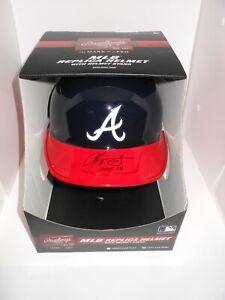 Chipper Jones Autographed FS Atlanta Braves Batting Helmet w/ HOF 18 Fanatics