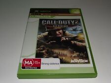 Call of Duty 2 Big Red One Xbox (Classics) Original PAL *Complete*