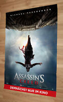 Assassin's Creed Film / Movie rare Promo German Poster 84x60cm