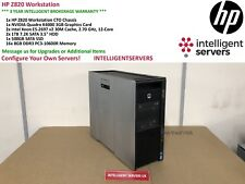 HP Z820 Workstation 2x E5-2697 V2 2.70GHz  128GB  2TB HDD 500GB SSD Quadro K4000
