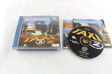 Sega Dreamcast taxi 2 le jeu PAL Video Juego