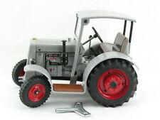 Blechspielzeug - Traktor Schlüter DS 25 mit Dach, grau, Kovap-Neuheit 2019 #0368