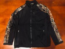 TAG Safari Outdoor Clothing Camo Hunting Casual Jacket Base Black Size Large #86