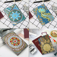 DIY Partial Multi-Shape Diamond Painting Faux Leather Crossbody Chain Bag HB