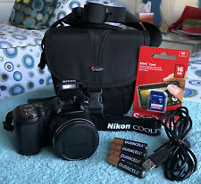 Nikon COOLPIX L100 10.0MP Digital Camera - Black~~MINT~~16GB SD~~Bundle~~