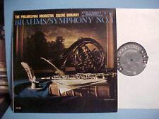 EUGENE ORMANDY LP BRAHMS SYMPHONY NO. 1 IN C MINOR OP. 68 VINYL RECORD HI-FI