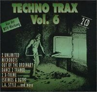 Techno Trax 06 (1992, #zyx70071) 2 Unlimited, Microbots, Out of the Ord.. [2 CD]