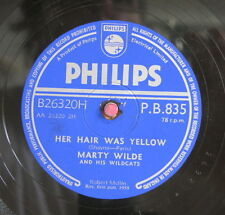 Marty Wilde / Her Hair Was Yellow & Endless Sleep (82-0913)