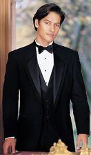CUSTOM MADE wedding men groom tuxedo with black satin shawl lapel vest N010