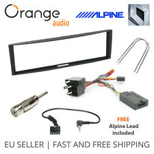 Renault Clio Megane Fitting Kit & Steering Wheel Adaptor CTSRN003 Alpine Lead