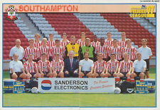 N°411 - 412 SOUTHAMPTON.FC TEAM Premier League 1997 MERLIN STICKER VIGNETTE