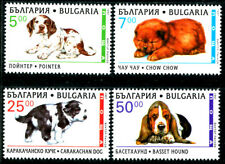 Bulgaria 3969-3972, MNH, Dogs Pointer Basset Chow x3535