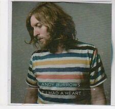 (EC100) Andy Burrows, If I Had A Heart - 2013 DJ CD