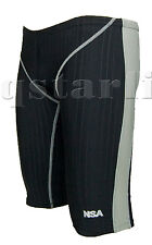 MEN'S MALE TRAINING COMPETITION RACING SWIMWEAR JAMMER 38/4XL